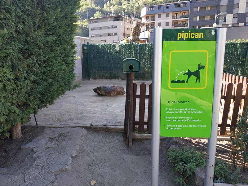 Pipican Andorra – parc central