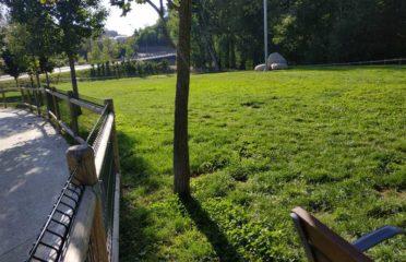 Pipican o parque canino en la Seu d'Urgell