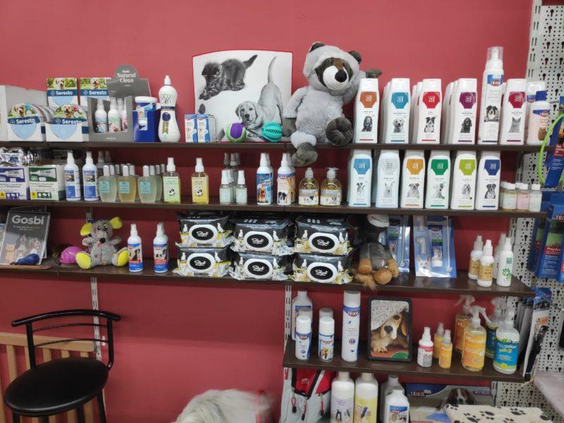 productos higiene para mascotas