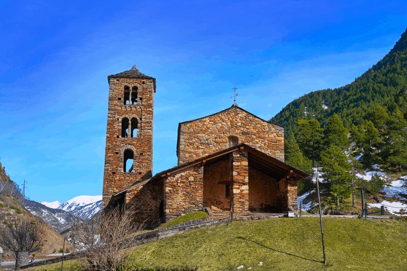 Iglesia sant joan de caselles canillo