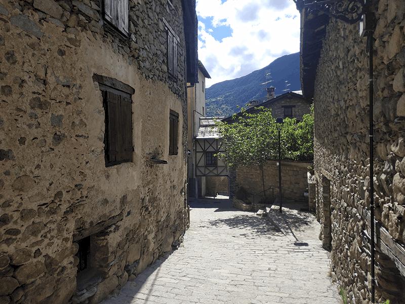 Calle del Núcleo Antiguo de Encamp