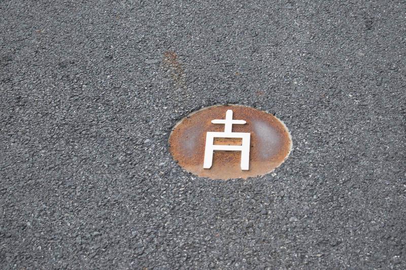 Simbolos de marcage nucleo antiguo Canillo