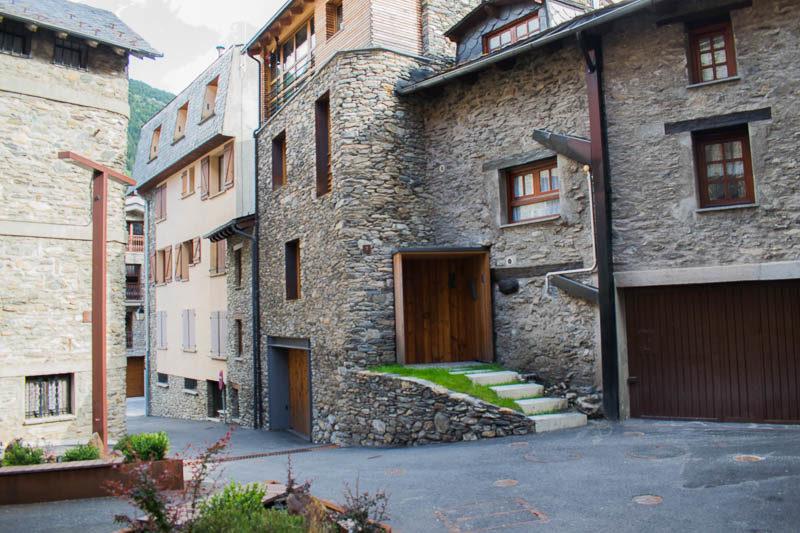 Calles nucleo antiguo de Canillo