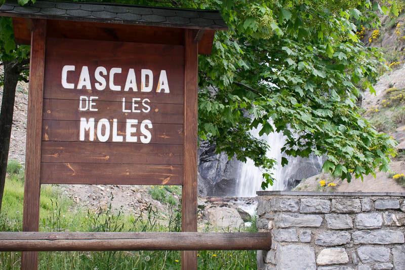 Cascada de Moles en Canillo