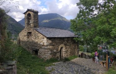 Sant Romà de Vila y el pueblo de Vila